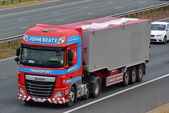 PX66 JYY (Martin's Online Photography) Tags: daf xf truck wagon lorry vehicle freight haulage commercial transport a1m northyorkshire nikon nikond7200