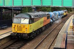 COLAS Rail 56090 - Mansfield Woodhouse (the mother '66' 66001) Tags: colasrail colas class56 56090 56094 mansfield mansfieldwoodhouse robinhoodline nottinghamshire rhtt 6j89 toton leaf leafbusting grid freight rail railways 2018