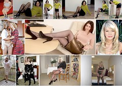 Joined by such a lovely collection today, including Cathy, Naughty Sue, P Morane, Alison Thighbootboy and Sarah! (donnacd) Tags: sissy tgirl tgurl dressing crossdress crossdresser cd travesti transgenre xdresser crossdressing feminization tranny tv ts feminized jumpsuit domina blouse satin lingerie touchy feely he she look 易装癖 シー