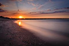 Ostsee/Koserow (Dirk Lahrmann) Tags: ostsee balticsea inselusedom sunset sonnenuntergang sea water langzeitbelichtung canon canon6d niceplace strand