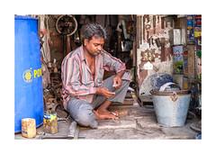 Artisan-5822DSCF5822 (helenea-78) Tags: inde jodhpur photoderue streetphotography streetportrait portrait portraitderue