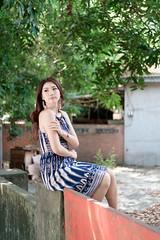 DSC_4943 (錢龍) Tags: 張倫甄 光復新村 外拍 時裝 眷村 nikon d850 cute girl 人像 甜美 長髮