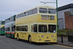 Wallasey Corporation number 1 Leyland Atlantean with Metro-Cammell body at Birkenhead Oct18 by Richard Delahoy 1 (focus- transport) Tags: wirral bus tram show 2018 birkenhead transport corporation crosville ferry mersey lisbon liverpool warrington greater manchester merseyside pte shmd stalybridge hyde mossley dukinfield wallasey leyland olympian titan pd2 atlantean massey foden northern counties daimler fleetline park royal alexander cvg6 metrocammell