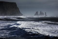 Iceland (Kai-Uwe Klauss) Tags: island urlaub iceland reynisfjara beach coastline brandung atlantic steilküste landscape landschaft photography scandinavia skandinavien