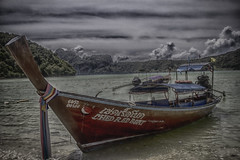 Long Tail Boat (LeBlanc_Nigel) Tags: thailand longboat island tourist canon 60d