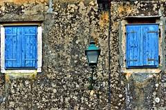 window (Zanahr) Tags: window abstract architecture art explore texture blue wall