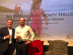 A pleasure to share the stage with Monty Halls and family yesterday evening in support of the Galapagos Conservation Trust! A wonderful event and nearly £20,000 raised for the charity. Limited/no single use plastics were used and everyone received an LSD (lsdscuba) Tags: ifttt instagram scuba lsd