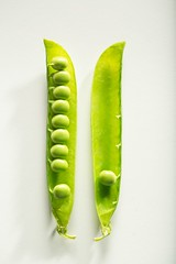 Close up disjunct farming - Credit to https://homegets.com/ (davidstewartgets) Tags: closeup disjunct farming flora food photography freshness green peas grow growth health healthy ingredients legume nutrition pod simplicity vegetable white background