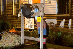 Halloween at the Allis-Bushnell House (Madison Historical Society (CT-USA)) Tags: madisonhistoricalsociety madisonhistory mhs madison connecticut conn ct newengland country usa nikon bobgundersen bostonpostroad route1 building outside outdoor exterior old historical history museum abhouse allisbushnellhouse corneliusscrantonbushnell monitor ussmonitor civilwar connecticutscenes antiques shoreline scene scenes d600 flickr education house interesting image nikond600 photo picture places shot ghost halloween stock pillory longexposure dark night nighttime