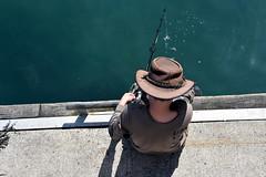 BoyFish (foliopix) Tags: fishing boy holidays wharf sea seaside