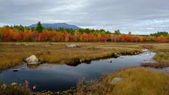 Mount Katahdin, Maine (jtr27) Tags: dscf2944xl jtr27 fuji fujifilm xt20 xtrans xf 1855mm f284 rlmois kitlens kitzoom mount mountain katahdin goldenroad compassspond autumn foliage maine newengland