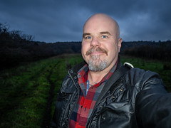 untitled-1-352 (CWhatPhotos) Tags: selfie selfee smile smiles autumn colors colours november sacriston county durham woods woodland trees leafs leaves cwhatphotos camera photographs photograph pics pictures pic picture image images foto fotos photography artistic that have which contain colour checked shirt goatee beard smiler evening light olympus omd em10 mkll mk ll lumix lens