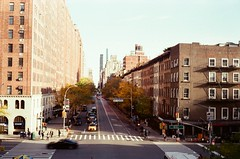 Looking down 23rd Street, New York City (NYOS87) Tags: canon canonet ql 19