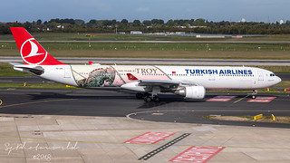 Turkish Airlines Airbus A330-3 TC-JOG