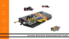 United Systems Construction Fleet (ORION_brick) Tags: lego render mecabricks bastion roll shiptember space spaceship ship star starship construct construction fleet armada shipyard yard jupiter fleetyard 46 united systems us contractor