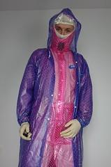 pvc raincoat and rainsuit (coatrPL) Tags: plastic pvc przeciwdeszczowe płaszcz płaszczyk raincoat rainsuit rainwear fetish