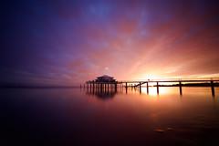 A few minutes later...Sunrise (kuestenkind) Tags: sunrise teehaus strand beach longexposure langzeitbelichtung unglaublichefarben schönstersonnenaufgangever timmendorferstrand