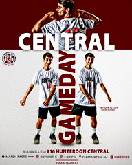 Gameday_Manville_10_5_18 (Sideline Creative) Tags: graphicdesign capturingthemoment soccer footballedits footballdesign digitalart sportsedit sportsgraphics sportsedits socceredit socceredits poster sportsposters photoshop montage collage 1dx canon reddevildesignseries gameday