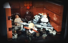 Star Wars Episode IV A New Hope - Death Star Trash Compactor (KevFett2011) Tags: kevfett2011 starwars lego art bricks episode iv 4 a new hope luke skywalker han solo princess leia chewbacca dianoga imperial death star trash compactor 2018 moc creation own edit build building