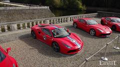 20181007 - Ferrari 488GTB - Ferrari F12 - Ferrari 812 Superfast - Q(1857) - CARS AND COFFEE CENTRE - Chateau de Chenonceau (Lhermet Photographie) Tags: ferrari812 ferrari812superfast ferrari ferrarif12 chateaudechenonceau chenonceaux sony sonyqx10