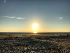 Sundown At The Beach (Marc Sayce) Tags: sunset sundown sand beach west wittering sussex autumn october 2018