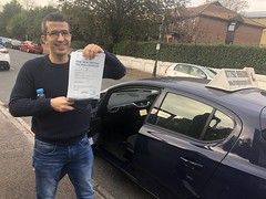 Massive congratulations  to Israel for passing his driving test!  www.leosdrivingschool.com