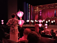 lantern show (SM Tham) Tags: asia southeastasia malaysia melaka malacca encoremelaka show performance culture performers lanterns theatre stage audience people aisle