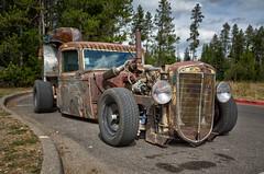 Rat Rod (Brad Prudhon) Tags: 2018 septenber wyoming grandtetonsnationalpark camper truck hotrod ratrod custom rusty
