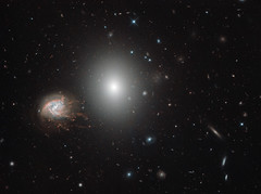 Hubble's Galaxies With Knots, Bursts (Grypons) Tags: image day by nasa nasaimageoftheday hubble's galaxies with knots bursts ngc4858 ngc4860