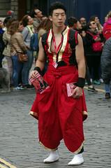 Little Drummer Boy (MalB) Tags: edinburgh fringe festival scotland pentax k5 royalmile