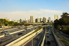 On the bridge (2018) (mrsrezer) Tags: urban city street traffic sp brazil blue sky landscape canon 700d
