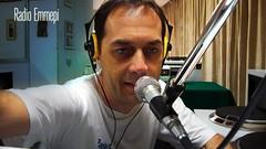 Stefano Monti all'opera nello studio 1 di Radio Emmepi. (61065) Tags: stefano monti radio emmepi padova speaker fm ukw