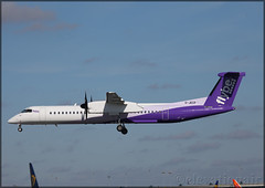 G-JECP De Havilland DHC-8-402 Flybe (elevationair ✈) Tags: dublin airport dublinairport dub eidw airliners airlines avgeek aviation airplane plane aircraft sun sunny sunshine dehavilland bombardier dhc8 dehavillanddhc8402 prop twinprop flybe gjecp