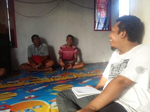 Interview with Fishemen Group in Santigi