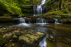 Scaleber Force, Settle, North Yorkshire (Geoff Dickinson) Tags: longexposure scaleberforce waterfall yorkshiredales settle northyorkshire unitedkingdom uk