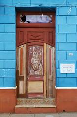 Patchwork (TablinumCarlson) Tags: amerika america karibik caribbean sea gulf mexico atlantic ocean cuba republic antilles antillen kuba tür door entry eingang blau blue kultur culture trinidad sanctispíritus weltkulturerbe unesco world l d dlux6 patchwork
