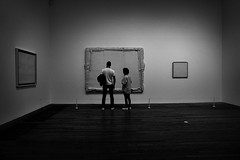 whites (Eskay Pics) Tags: man woman painting museum exibition white