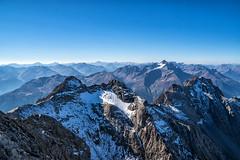 Blick von der Parseierspitze zum Hohen Riffler (stefangruber82) Tags: alpen alps tirol tyrol mountains berge herbst fall snow schnee rocks felsen