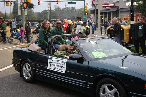 MSU Homecoming Parade, October 2018