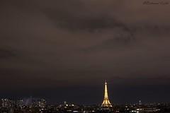 Electric night (bertrand kulik) Tags: eiffeltower night lightningstrike orage france architecture natre cloud nuage storm tempête
