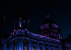 Belfast City Hall (Morven McCulloch) Tags: belfast cityhall lights night history architecture