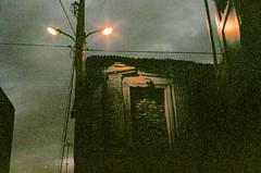 (Tamar Burduli) Tags: analog film color 35mm grain night architecture sky street streetlight light dark tbilisi georgia travel tamarburduli pentax fujifilm
