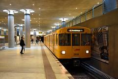 Berlin U Bahn (Richard Hagues Photography) Tags: berlin ubahn underground metro train railway germany