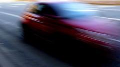Spazio Tempo (carlo612001) Tags: attimi car macchina ombra rosso shadow red movimento mouvment velocità strada fast space time speed
