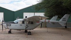 Cessna 337M O-2A-CE Super Skymaster 68-6901 in Tucson (J.Comstedt) Tags: aircraft flight aviation air aeroplane museum airplane us usa planes pima space tucson az cessna 337 o2 super skymaster usaf 686901 cia n37581