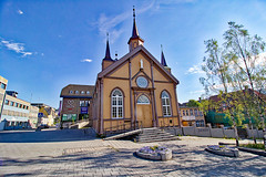 Norwegen - Tromsø, Katholische Kirche (www.nbfotos.de) Tags: norwegen norge norway tromsø tromsö katholischekirche kirche church