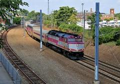 The Providence/Stoughton Line (BravoDelta1999) Tags: amtrak amtk northeastcorridor nec electric massachusettsbaytransportationauthority mbta providencestoughton line acela express northeastregional rhodeisland providence train 2807 emd f40ph2 1027 morrisonknudsen mk f40phm2c newyorknewhavenandhartford nh railroad newhaven railway