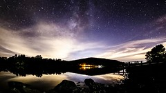 Late Season Milky Way and Cloudy Sky Timelapse at Lake Cuyamaca (slworking2) Tags: