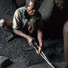 Togo - with the blacksmith of Kabye