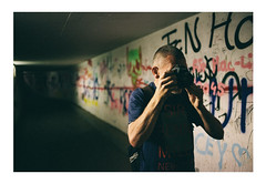 Always Around (Thomas Listl) Tags: thomaslistl color people tunnel photographer arminfuchs jazzinbaggies wolfiwolf passage graffiti light artificiallight camera canon canon5dmarkiii mood atmosphere action 35mm